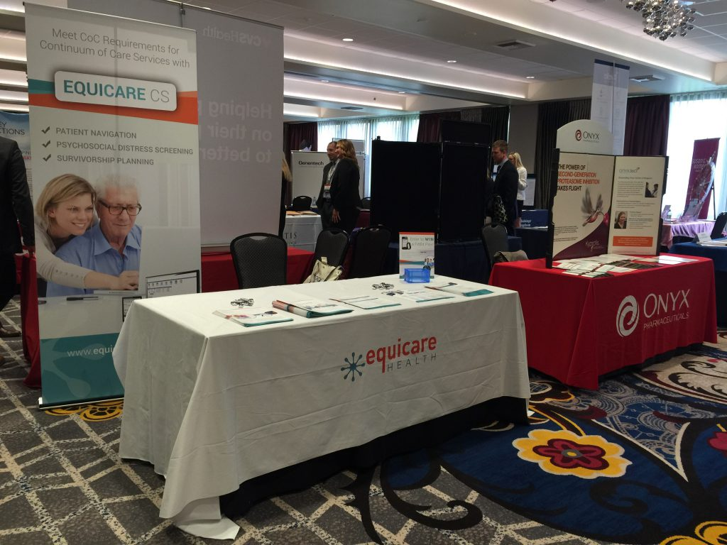 Equicare booth @ AONN+ West Regional Meeting
